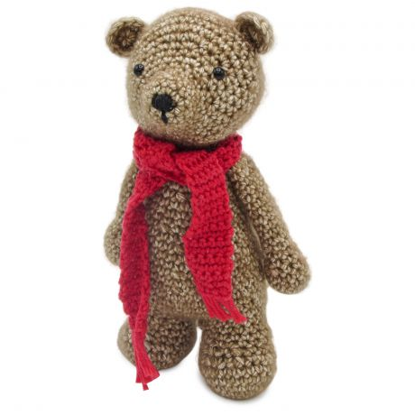 Kit crochet Bobbi l'ours debout