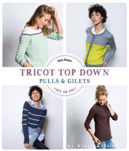 Tricot Top Down - Pulls & Gilets