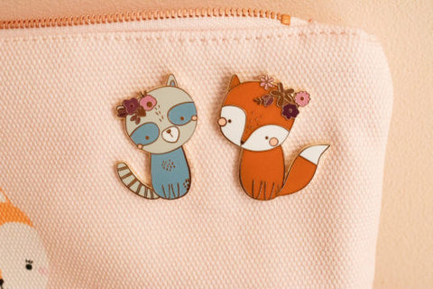 Pin's Woodland friends