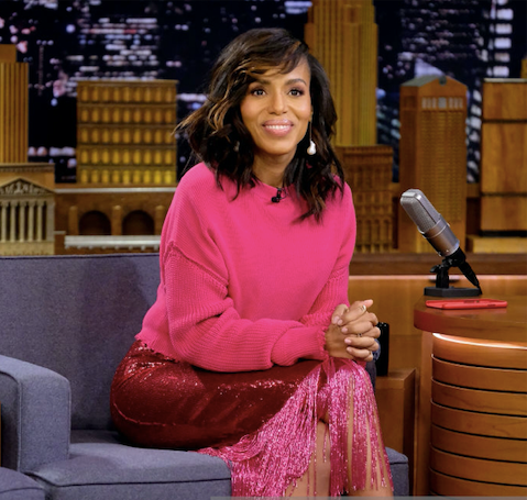 Kerry Washington In MATEO On The Tonight Show With Fallon