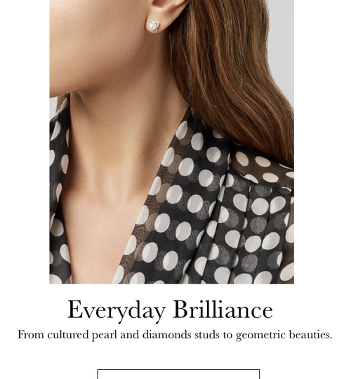 Everyday Brilliance // Shop Stud Earrings