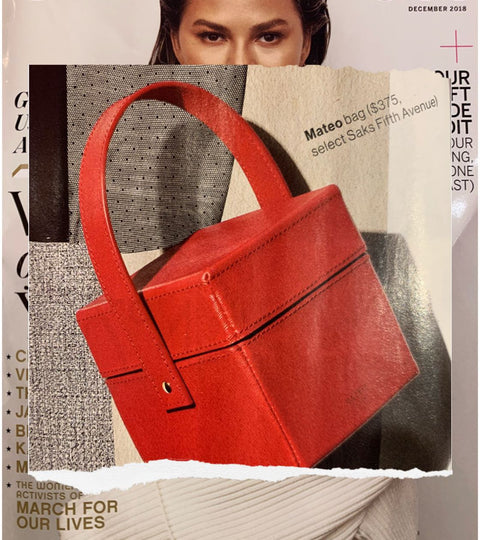 Catherine Box Bag In Glamour Magazine
