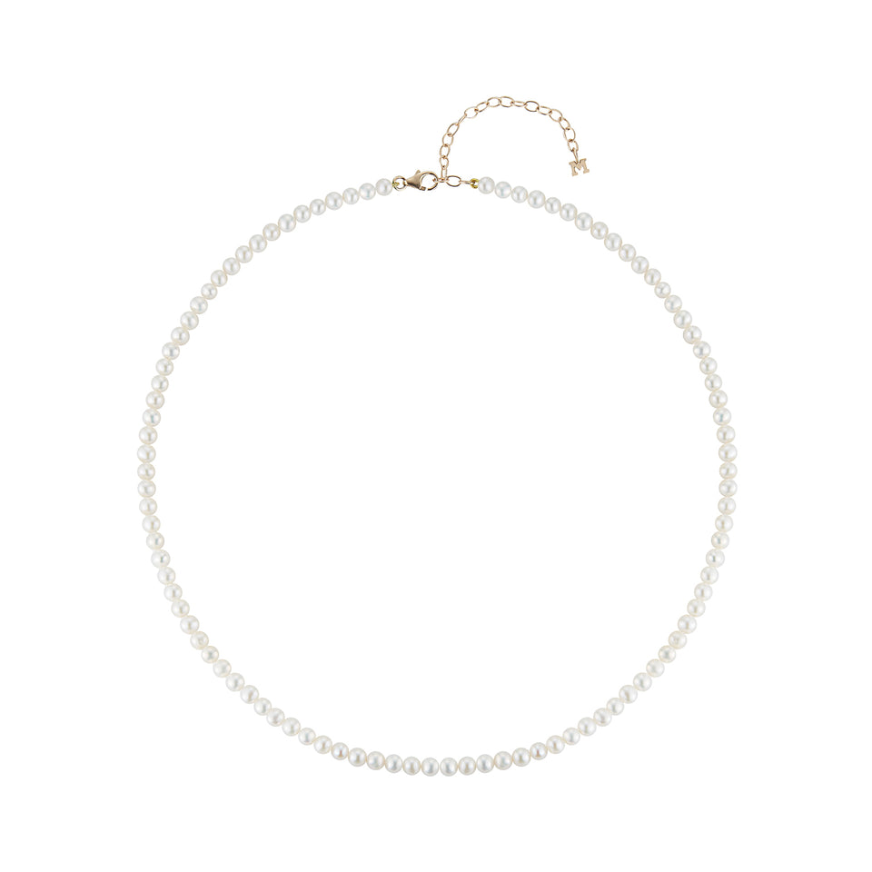 Pearl Beaded Choker