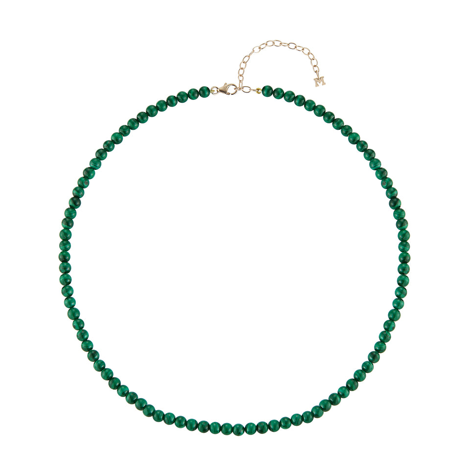 Malachite Beaded Choker