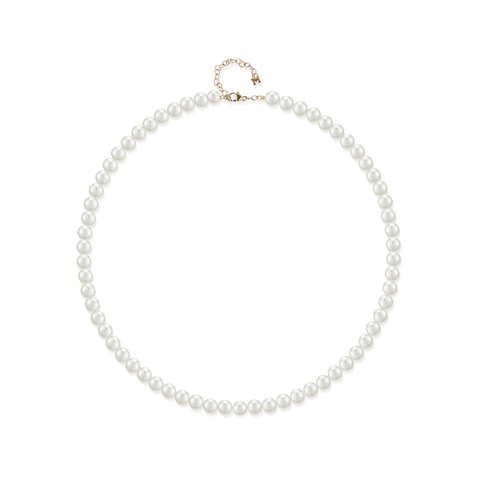 14kt Gold Mother's Pearl Necklace