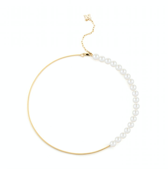 14kt Gold Not Your Mother's Pearl Necklace