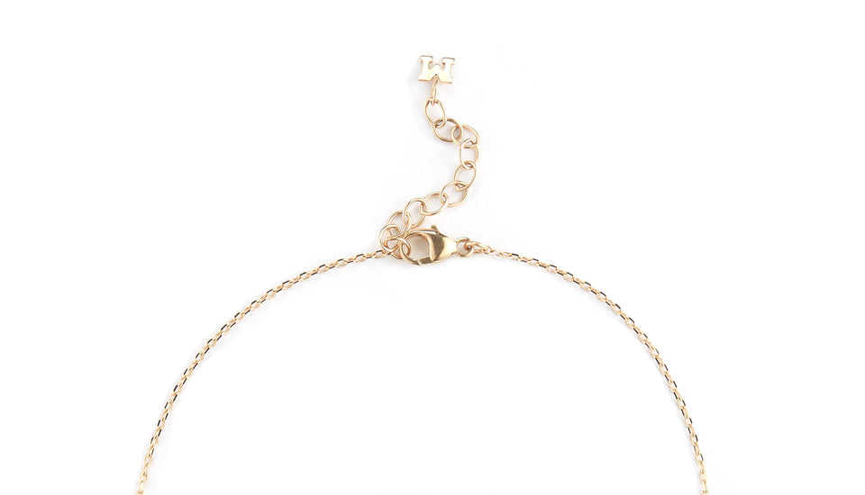14kt Gold Diamond Cut Link Chain