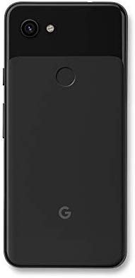 Google - Pixel 3a with 64GB Memory Cell Phone (Unlocked) - Just Black - G020G E Electronics