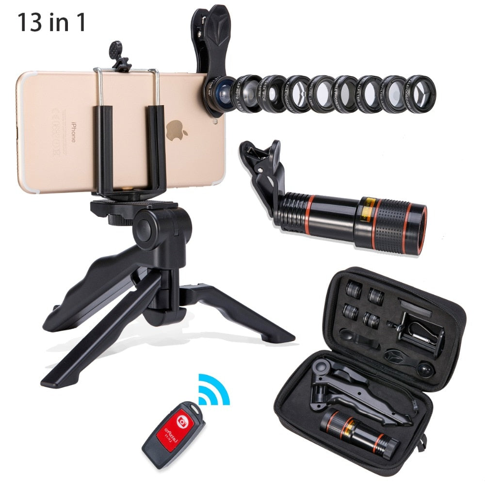 Phone Stand & Camera Kit for iphone xiaomi android phone E Electronics