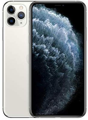 Apple iPhone 11 Pro Max (64GB) - Silver E Electronics