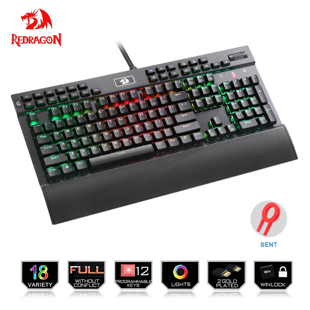 Redragon Professional Gaming mechanical keyboard E Electronics