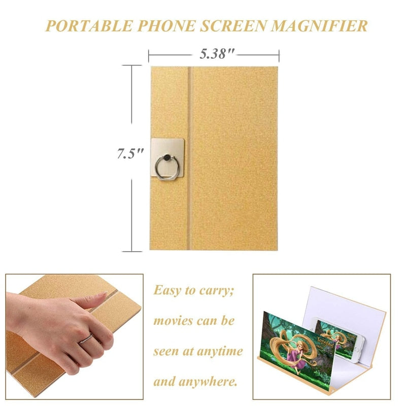 Mobile Phone Screen Magnifier Stand E Electronics