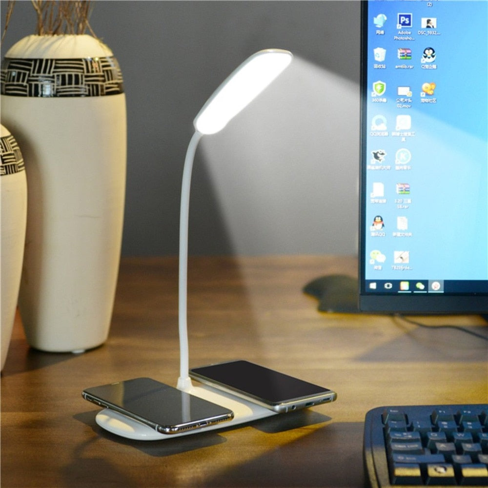 LED Desk Lamp Night Light & Charger E Electronics