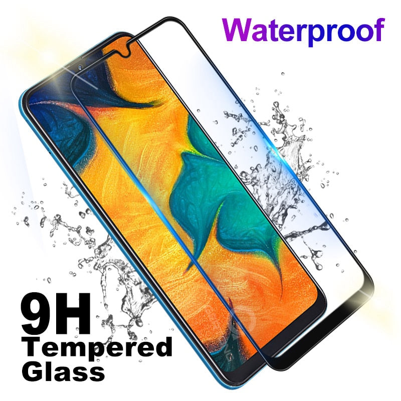 9D Curved Tempered Glass For Samsung Galaxy A30 A50 A10 M10 M20 M30 E Electronics