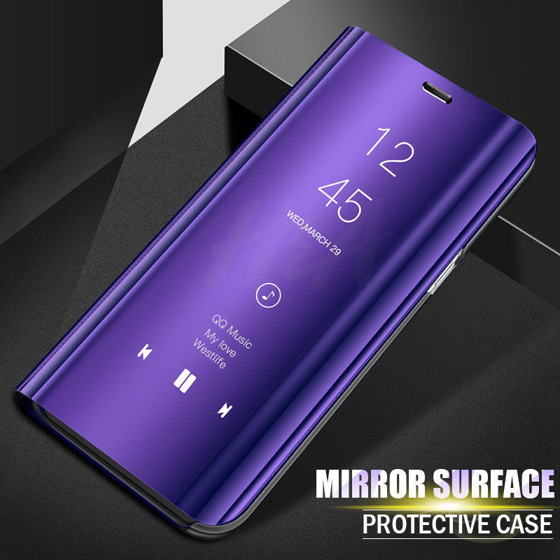 Luxury Smart Mirror Flip Phone Case For Samsung Galaxy S10E S10 S9 S8 Plus Cover E Electronics