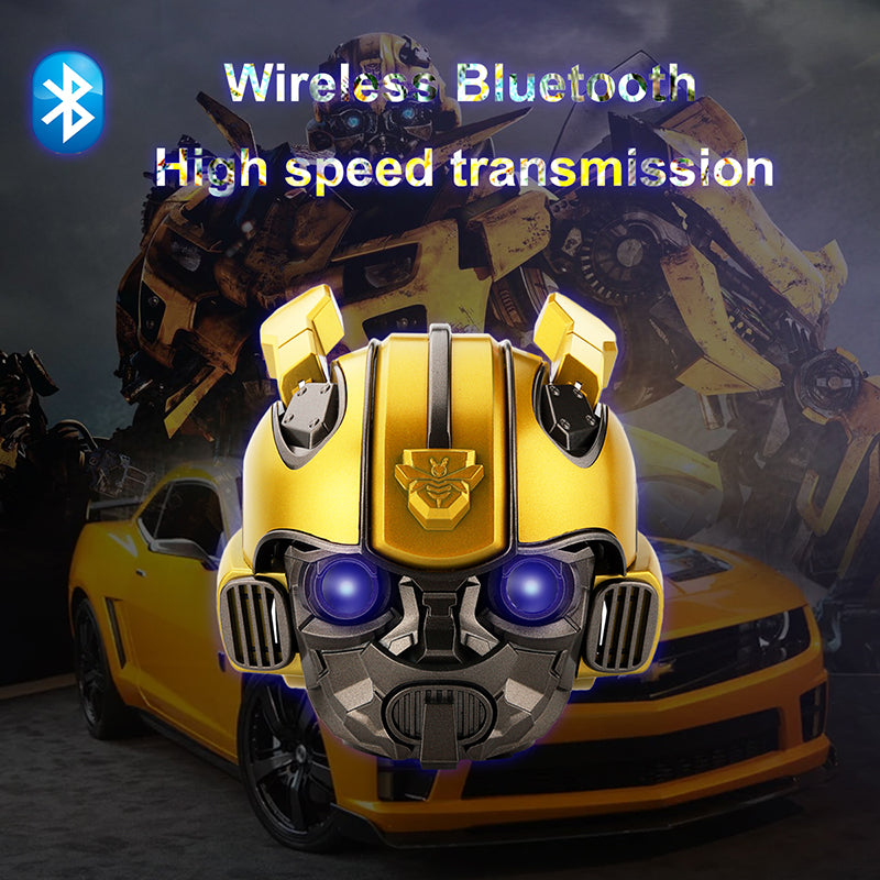Transformers Bumblebee Helmet Wireless Bluetooth 5.0 Speaker With Fm Radio Support Usb Mp3 TF for Kids E Electronics