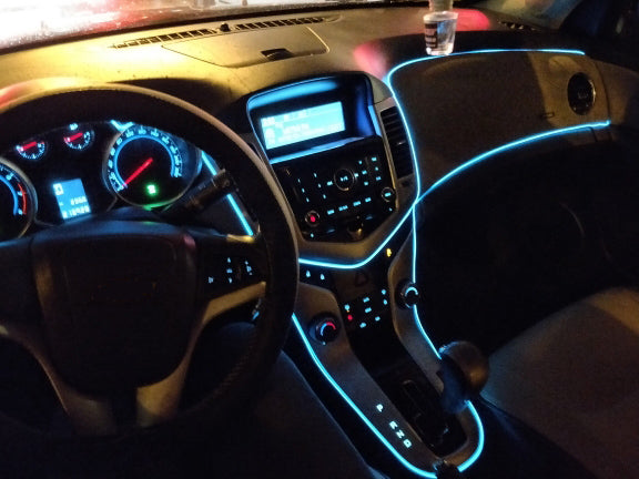 USB DIY Decorative Dash board Console Door LED Light E Electronics