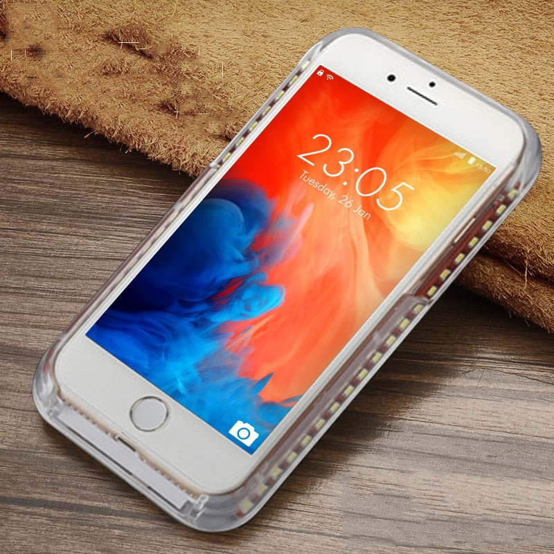 Luminous Phone Case For iPhone 6 6s 7 8 Plus X E Electronics