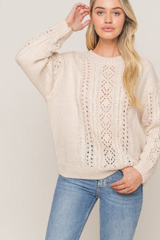 Knit Sweater - LT14935-CI