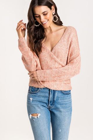 Malibu Wrap Sweater