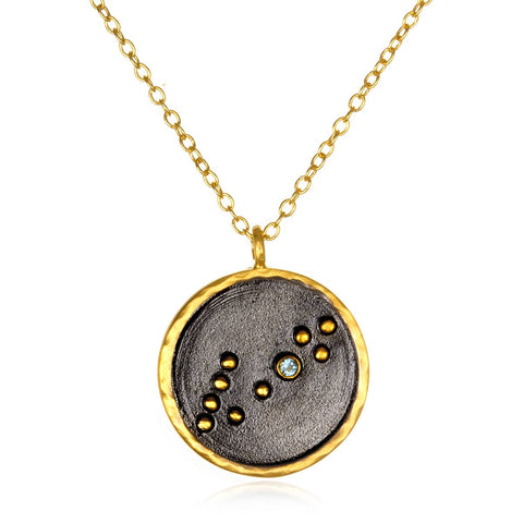 Satya Jewelry - Zodiac Constellation Necklace 18""