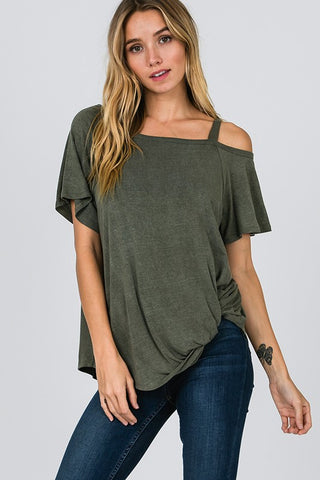 Acacia Side Knot Top