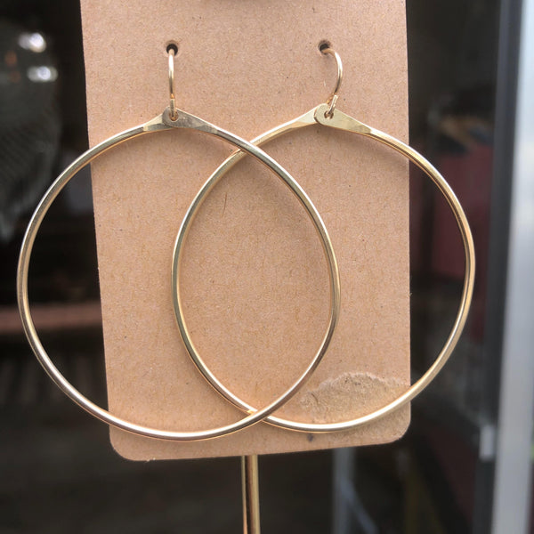Signature Large Hoop