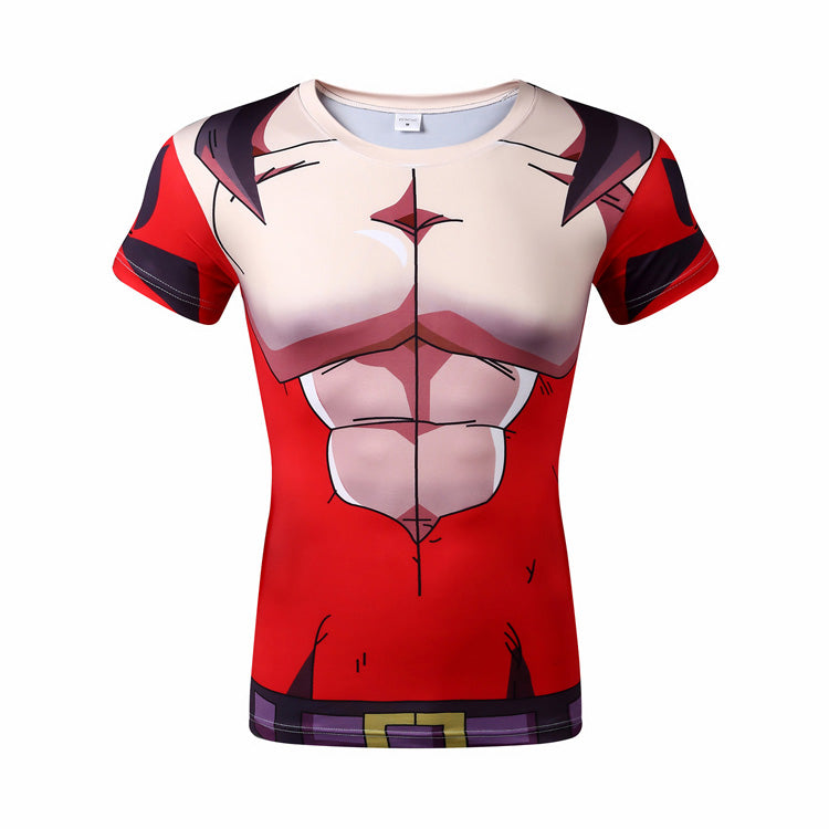 Dragon ball  t shirt Men Cosply Shirts Dragon Ball t-shirt Male Anime Top Dragon Ball Tee Compression Fitness Bodybuilding Tops