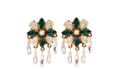 ISIS GREEN EARRINGS