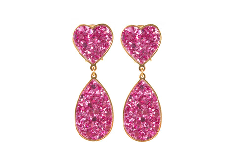 KIM PINK EARRINGS