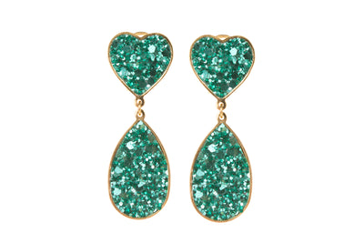 KIM GREEN EARRINGS