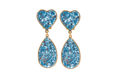 KIM BLUE EARRINGS