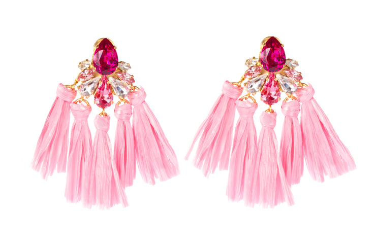 DONNA PINK EARRINGS