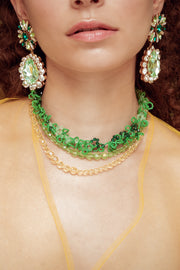FROUFROU GREEN NECKLACE