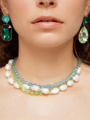 TAHITI GREEN NECKLACE