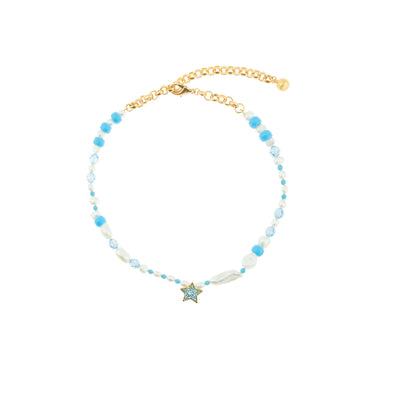 NEPTUNE BLUE NECKLACE
