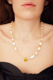 BAROQUE SMILE NECKLACE
