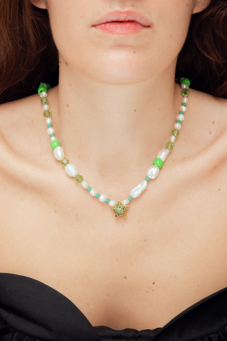 NEPTUNE GREEN NECKLACE