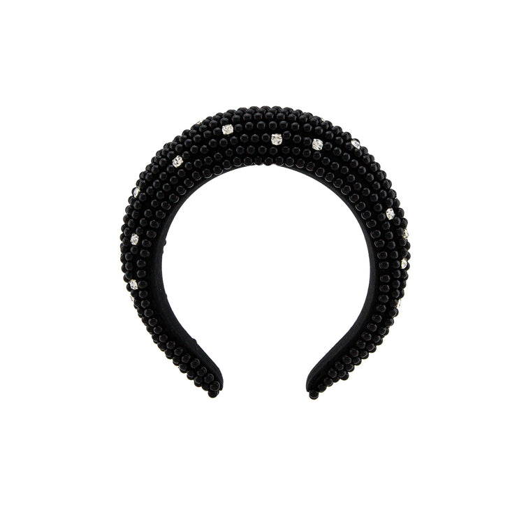 CLOTHILDE BLACK HEADBAND