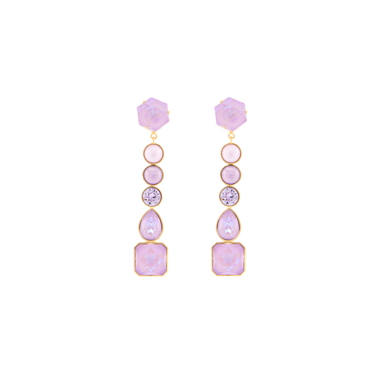CASCADE LAVENDER EARRINGS