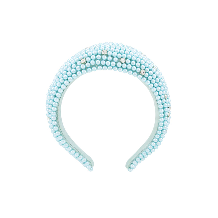 CLOTHILDE BLUE HEADBAND