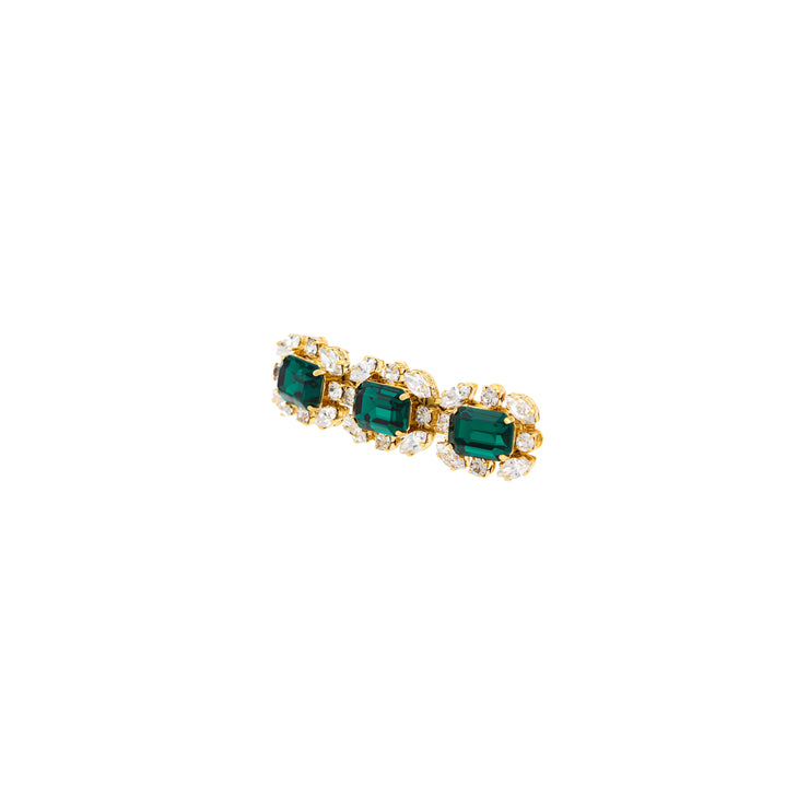 EMERALD BARRETTE