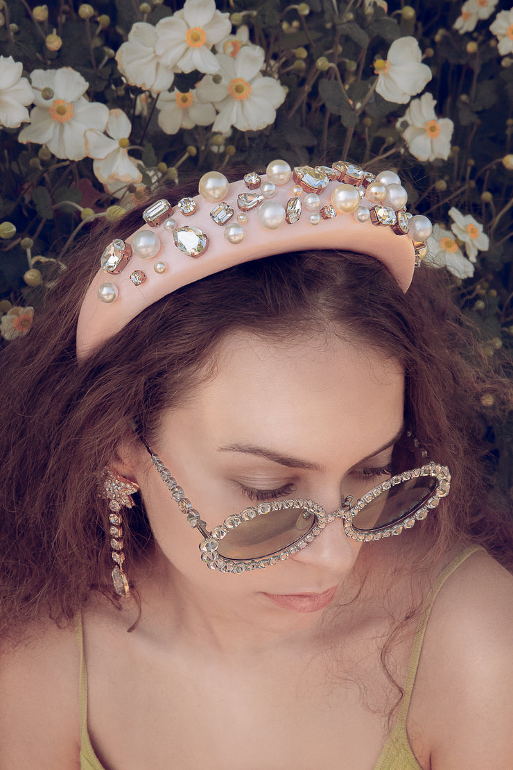 ANGELIQUE PEARLS HEADBAND