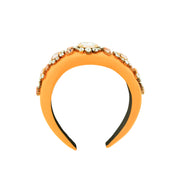 ANGELIQUE ORANGE HEADBAND