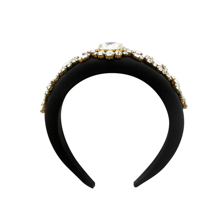 ANGELIQUE BLACK HEADBAND