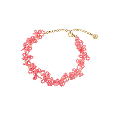 FROUFROU PINK NECKLACE