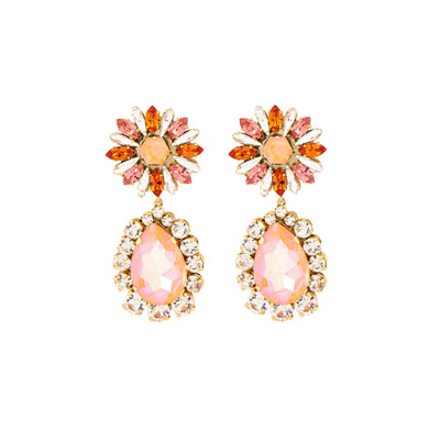 CAPUCINE ORANGE EARRINGS