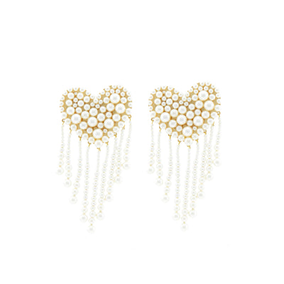 LOVE PEARLS EARRINGS