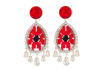 SUMA RED EARRINGS