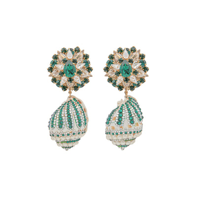SANTA ESMERALDA EARRINGS
